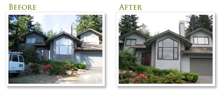 Exterior Painting Before & After