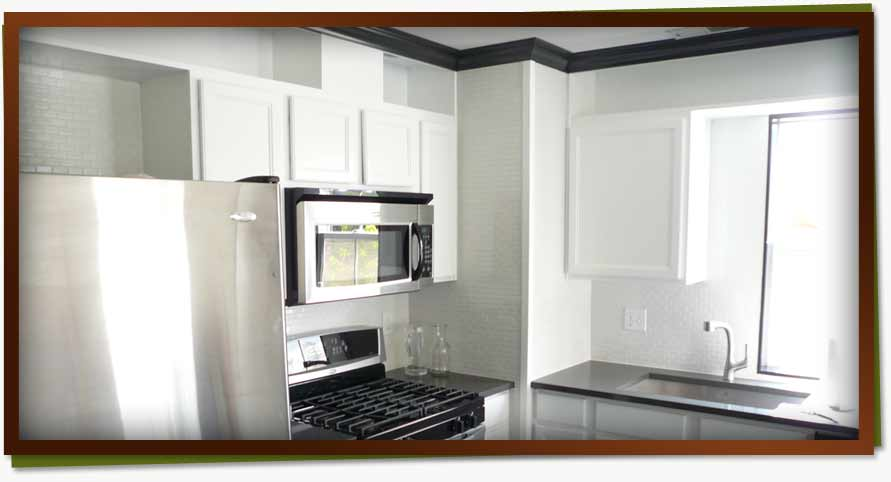 kitchen cabinets interior painting